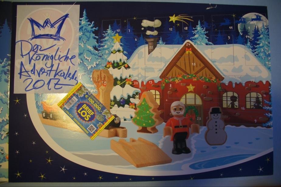 Der königliche Adventkalender – nur für denHerzkönig!