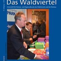"""Neuerscheinungen: Zeitschrift """"Das Waldviertel"""" und Jahrbuch des Vereins für Landeskunde"""