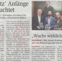 """Neue Ausgabe der Zeitschrift """"Das Waldviertel"""" mit Beiträgen zu Johann Krahuletz, zu Juden in Straß, zu Pöggstaler Kirchen, zur Hain-Bänderschnecke... erschienen"""