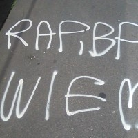 Straßengraffiti: hier regiert der ?
